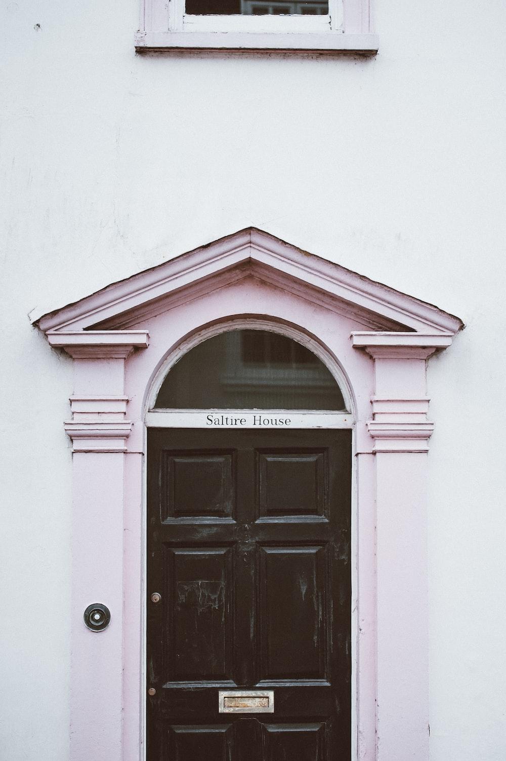 Saltire House signage