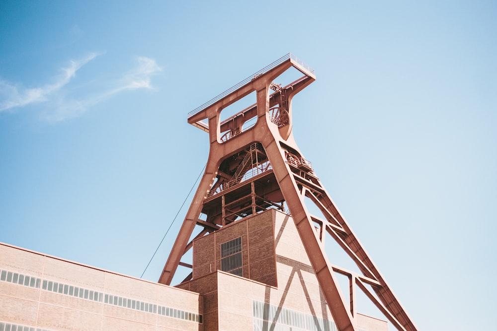 gray steel tower