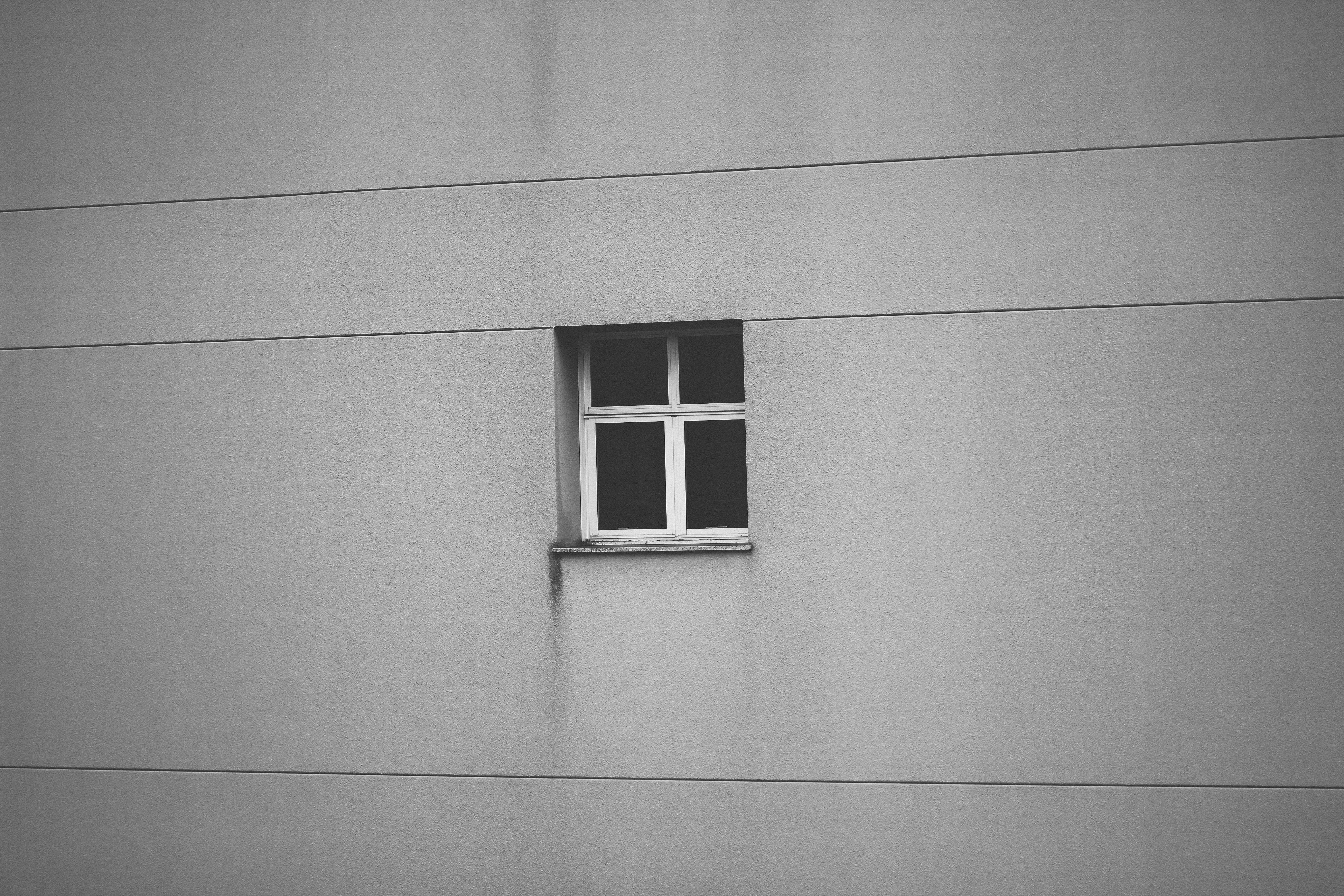 black window with frame