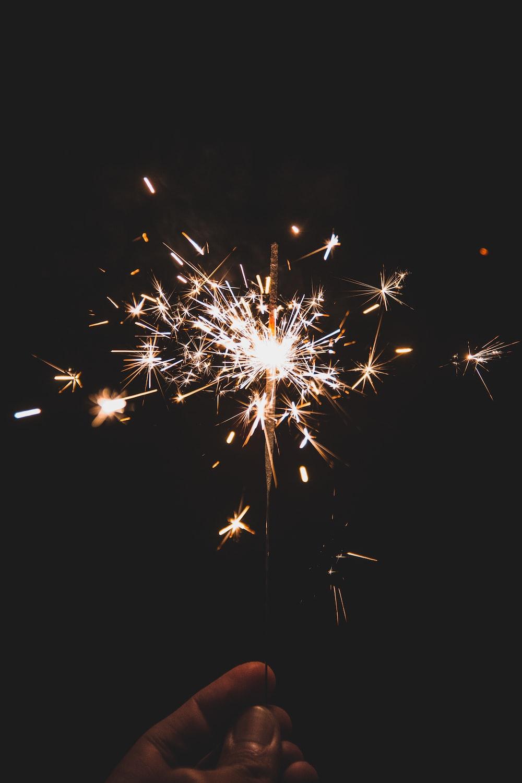 lighted firecracker