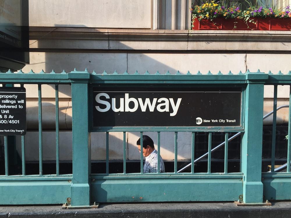 Subway signage