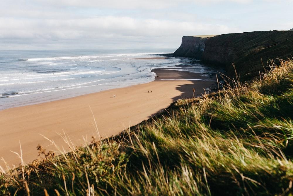 scenery of beach