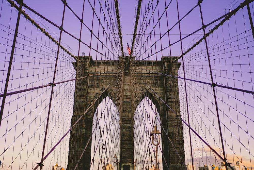 photo of man's eye-view bridge
