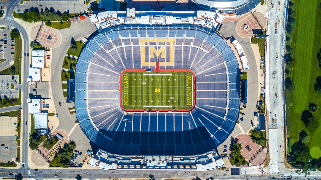 The greatest place on earth… The Big House… Michigan Stadium.