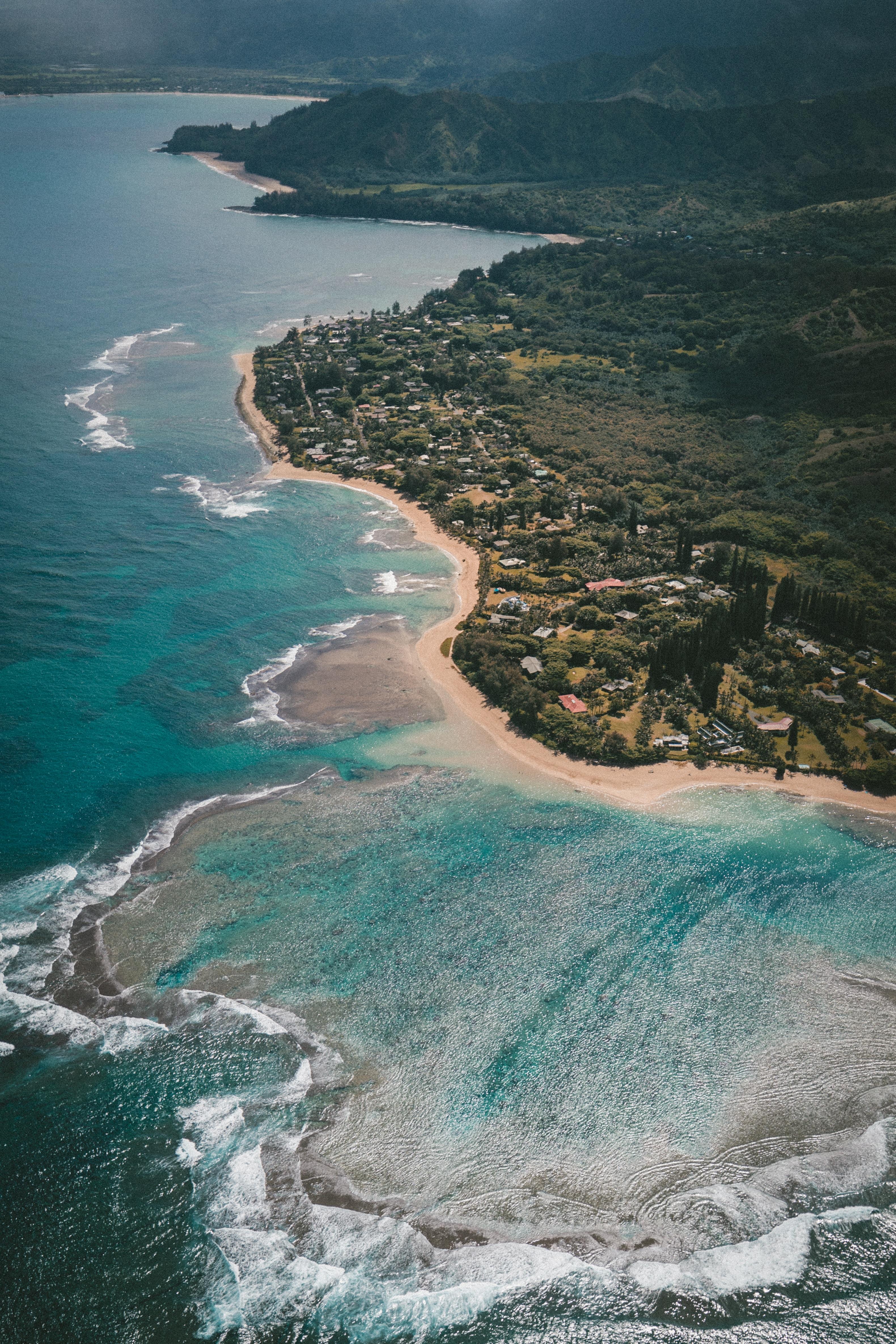 aerial photography of ocean taken at daytime