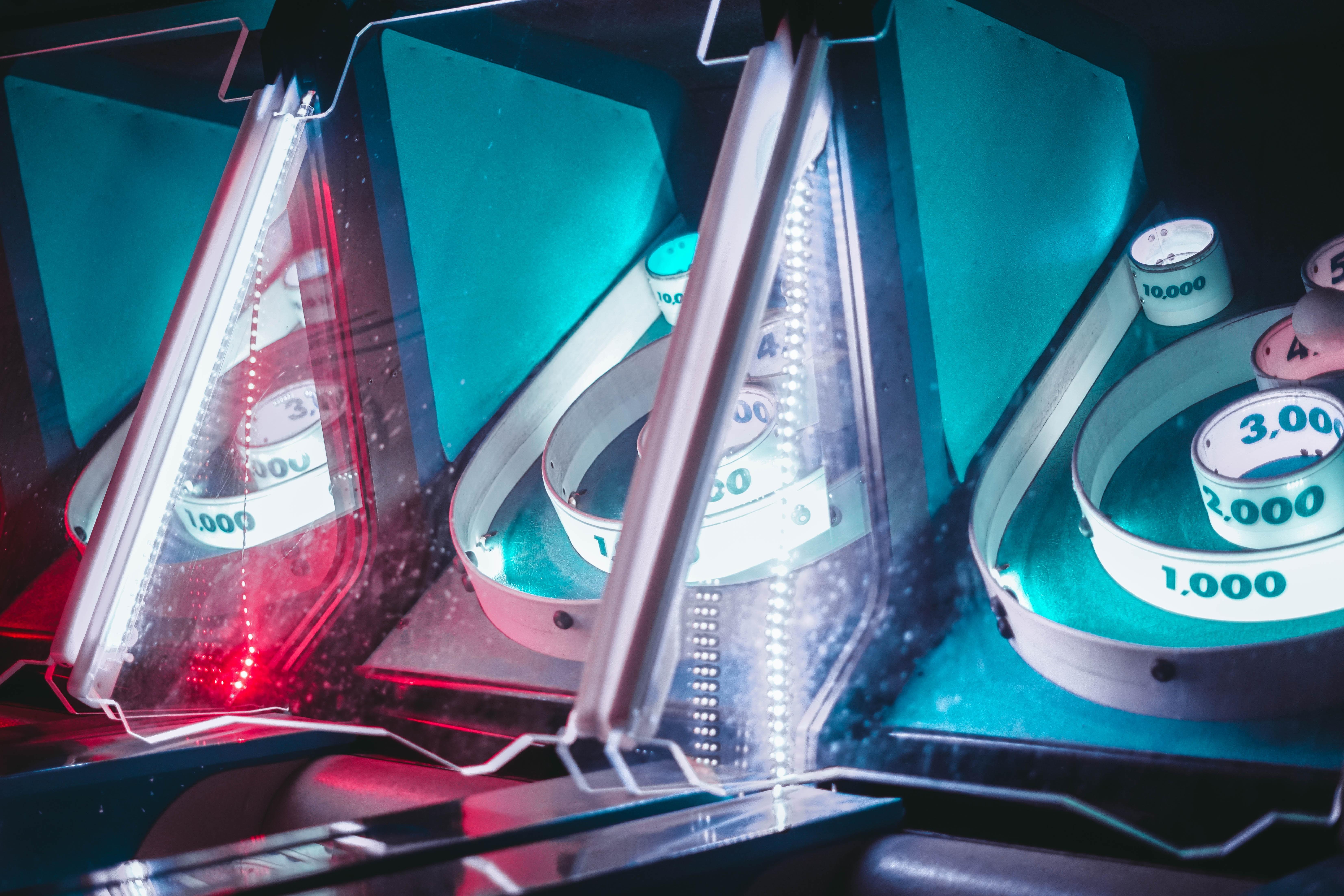 photo of arcade machine