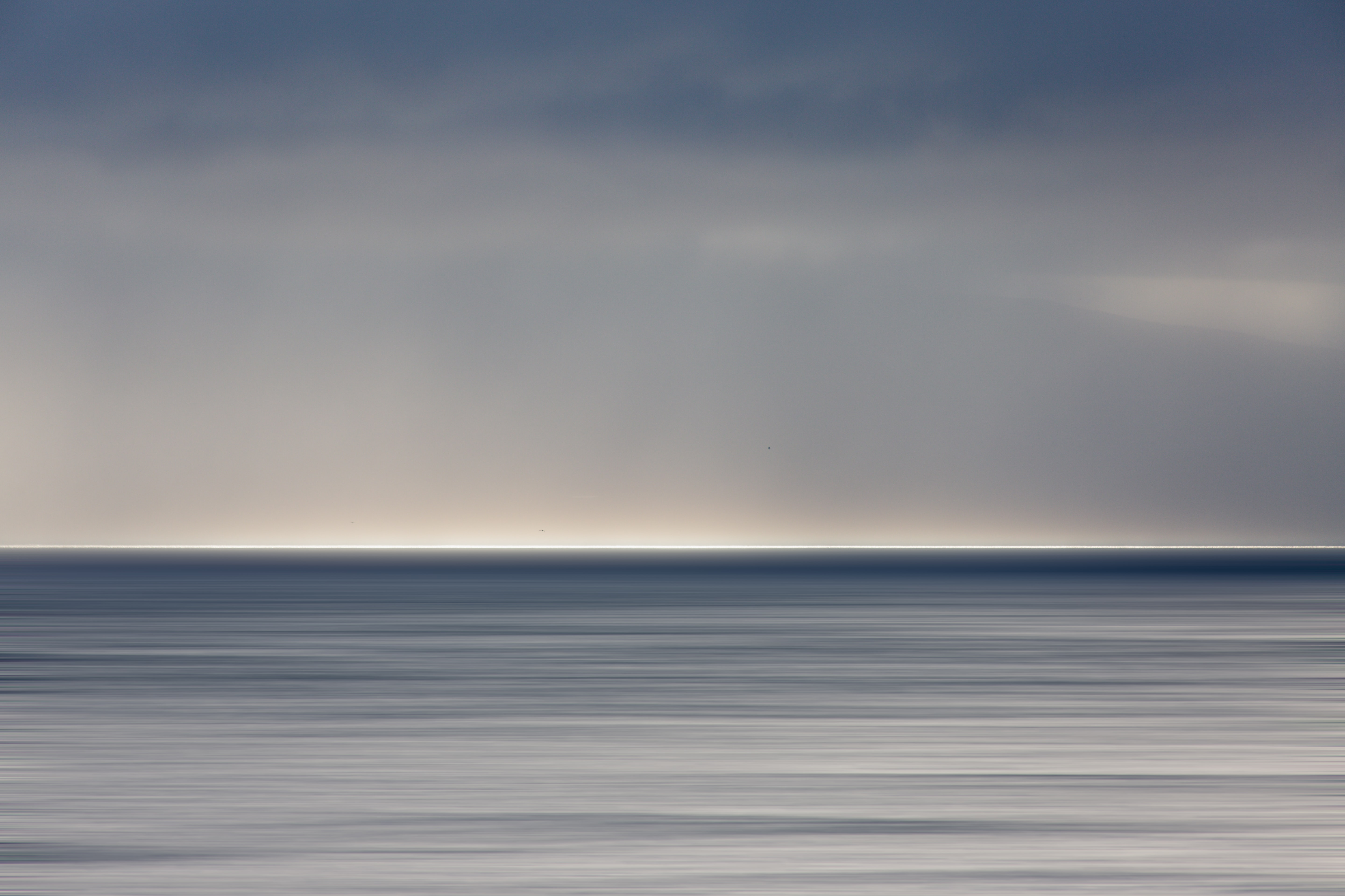 landscape photography of body of water