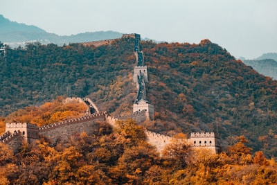 great wall of china, china china zoom background