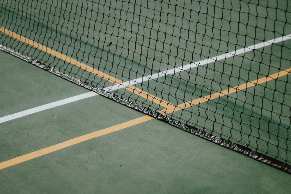 black and white sports net
