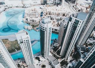 bird's-eye view of building