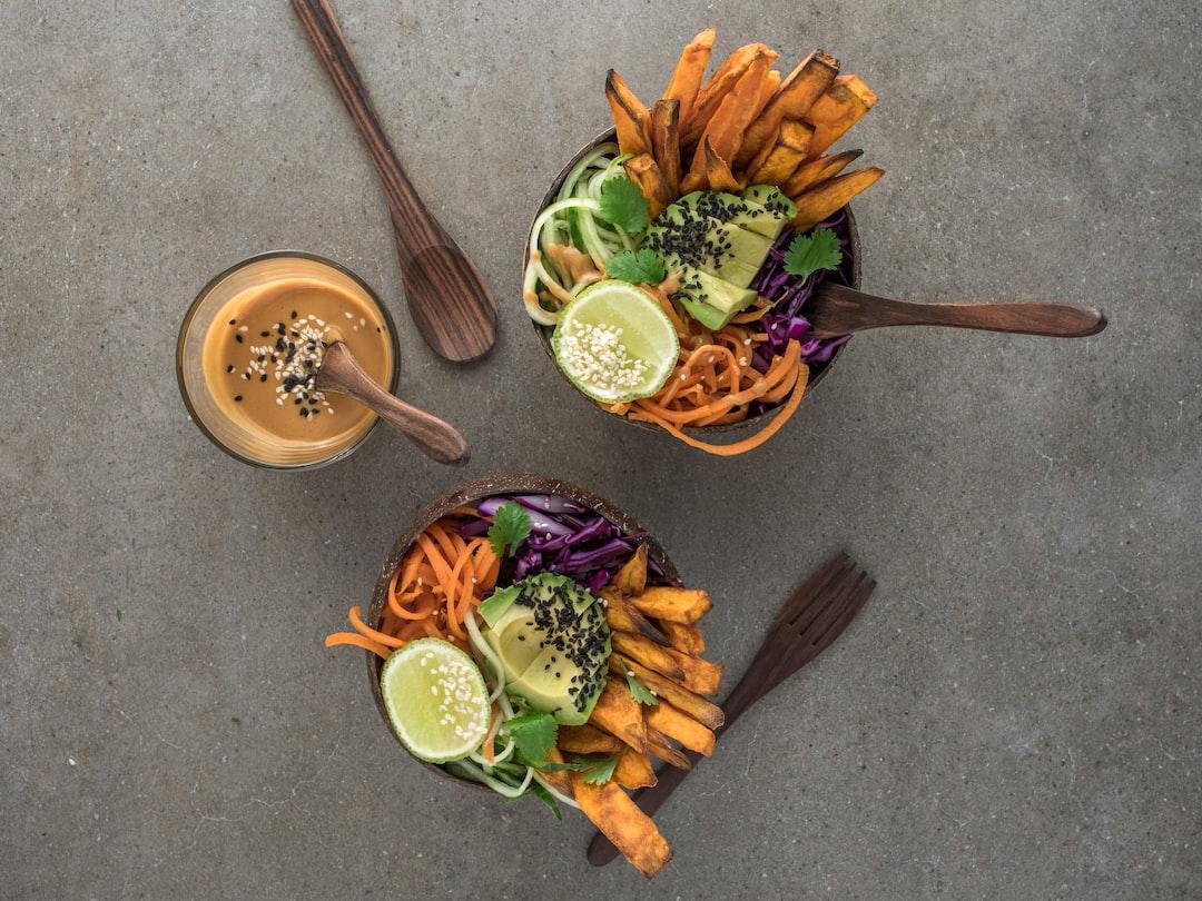 Plant Based asian infused salad