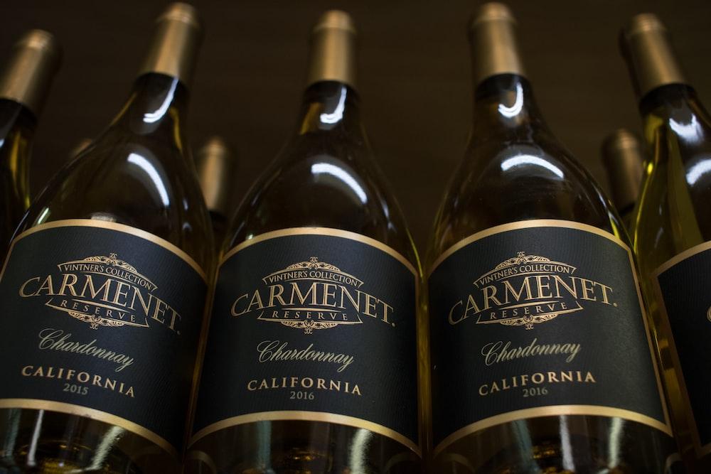 three Carmenet California bottles