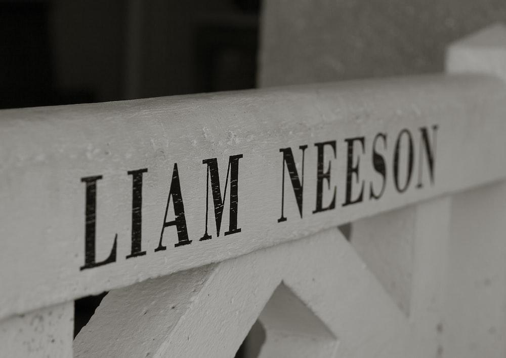 Liam Neeson-printed post