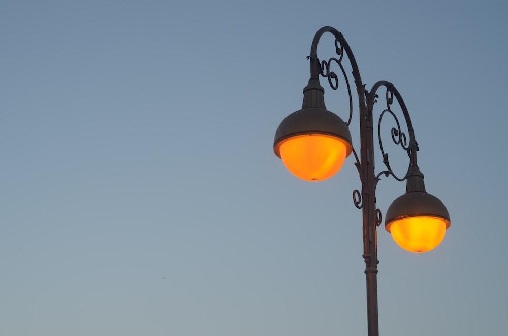 turn on street light