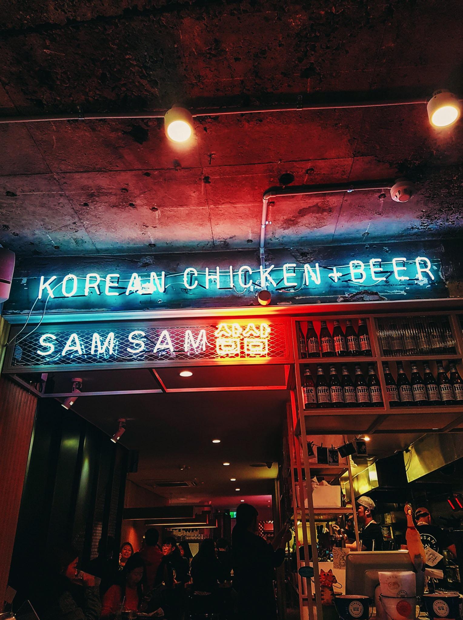 Korean Chicken Beer LED signage