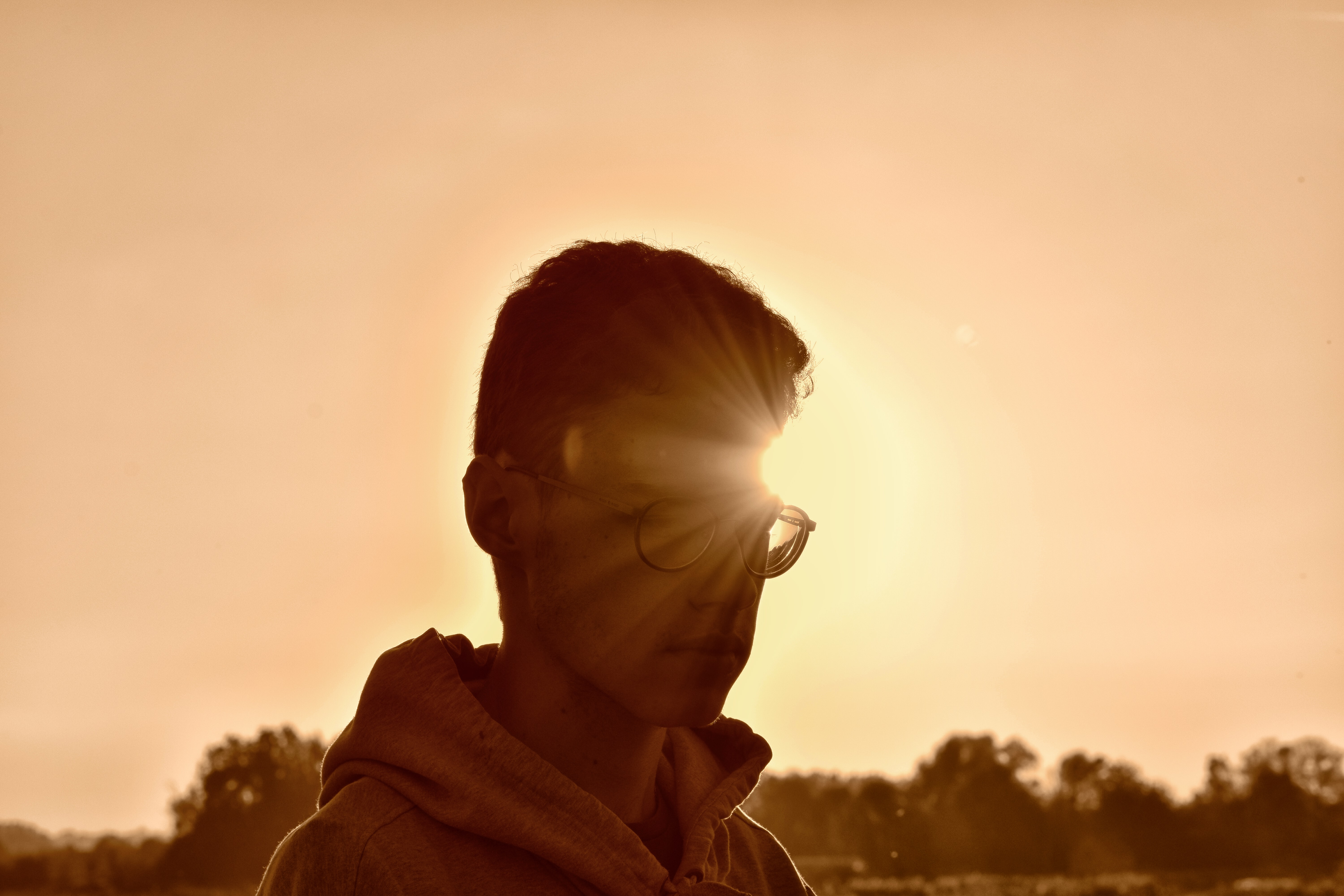sepia photography of man