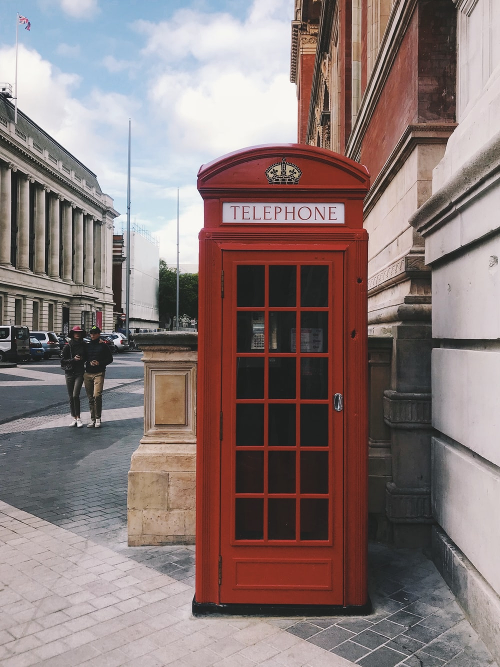 photo of red telephone booth