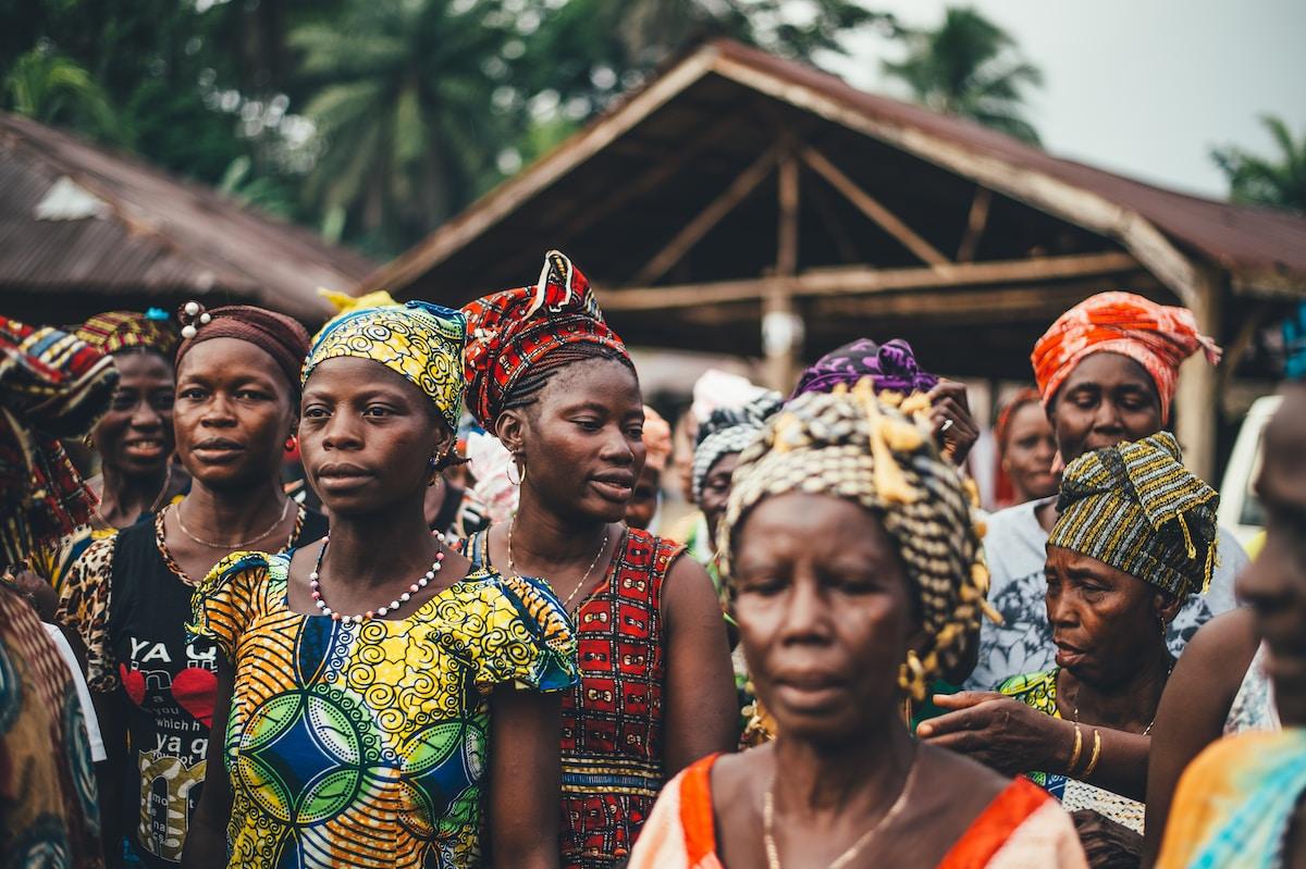 coronavirus en África, group of people photo
