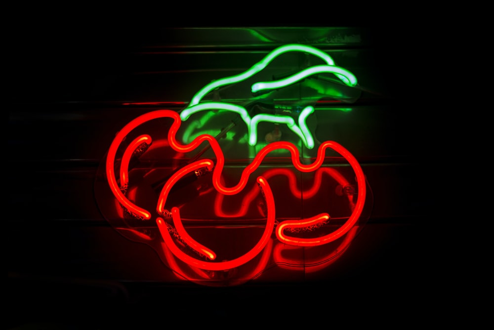 red and green LED string