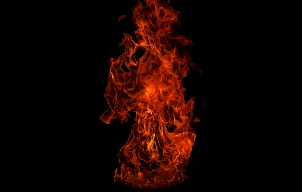 fire digital wallpaper