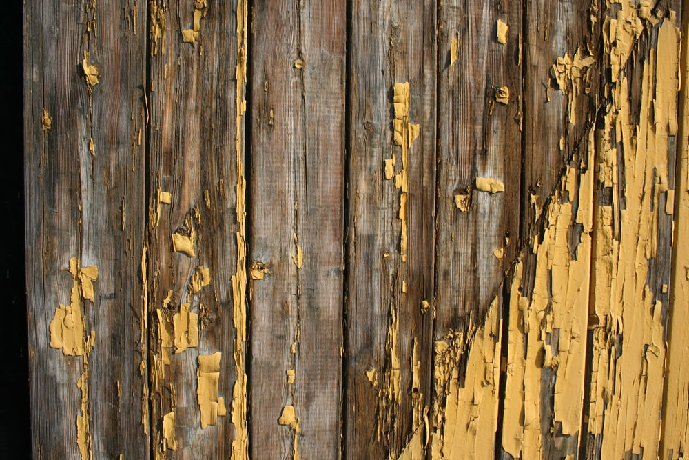 brown wooden fence