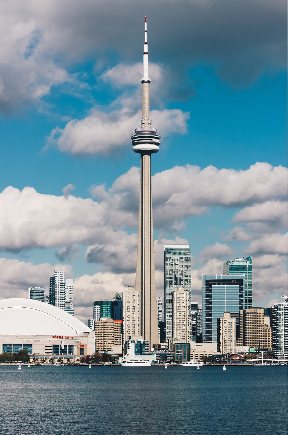 photography of CN Tower, Canada
