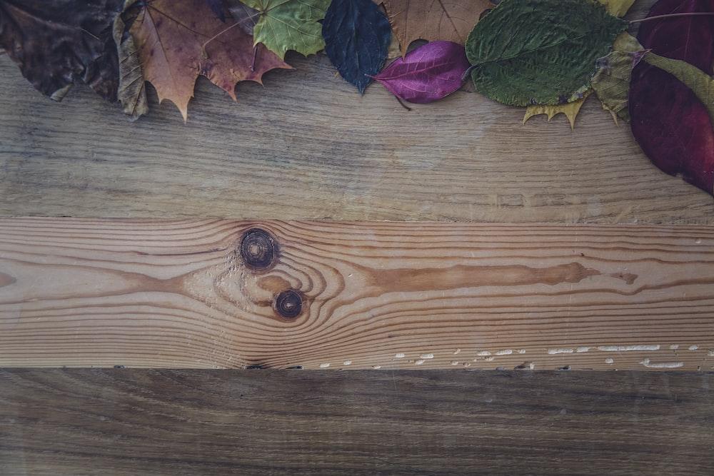 brown wooden plank