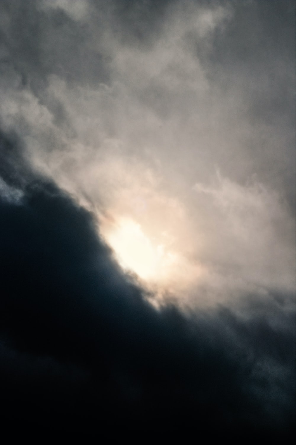 photo of white clouds