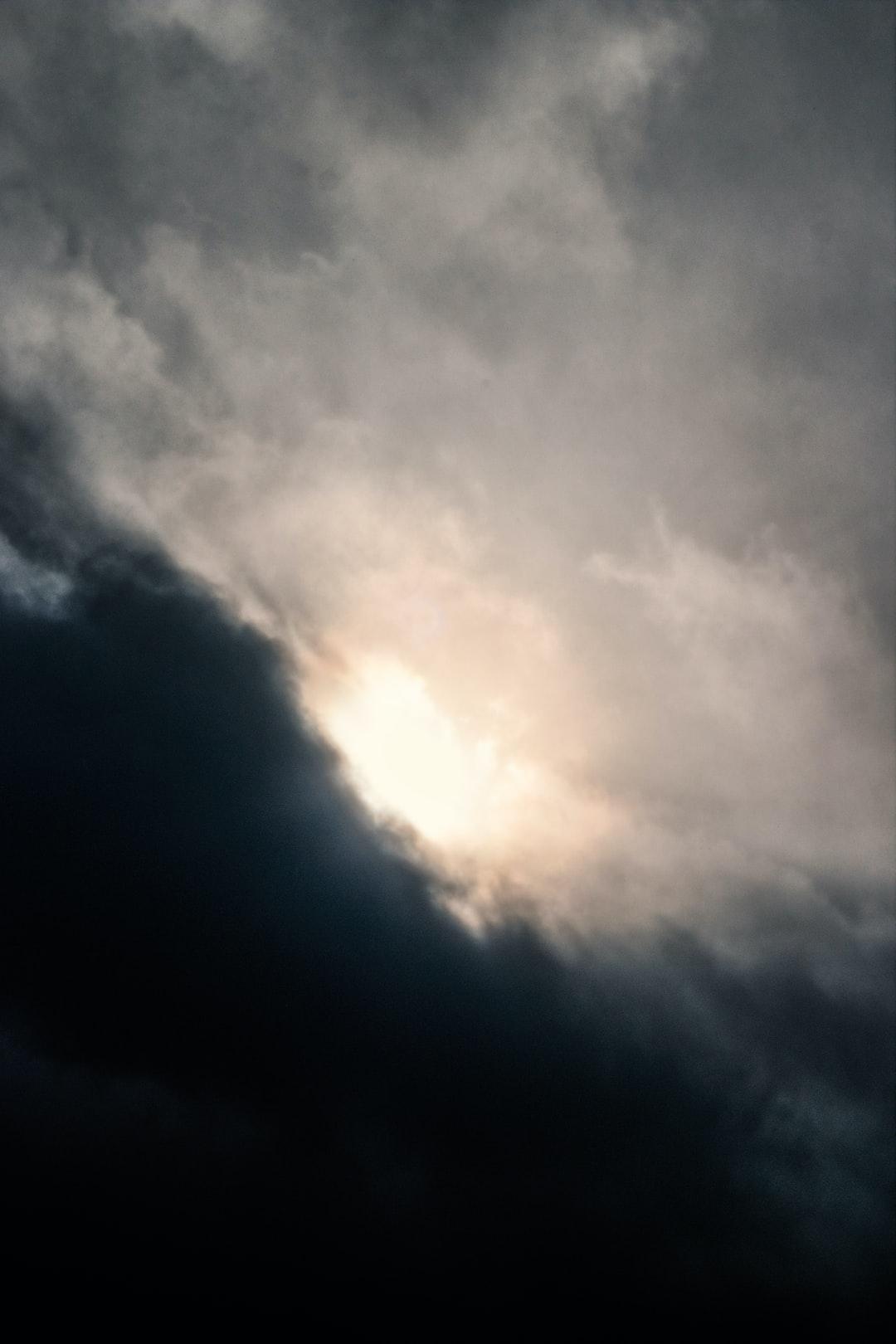 Imploding sky
