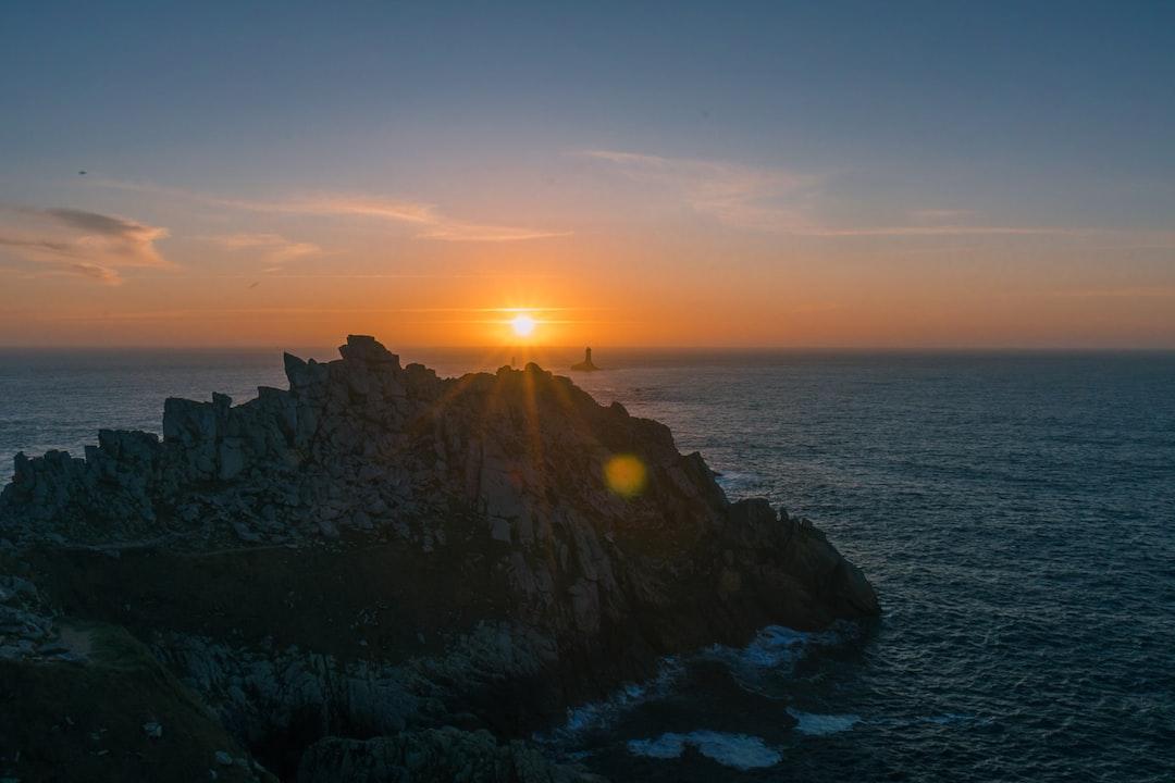Sunset at Pointe Du Raz