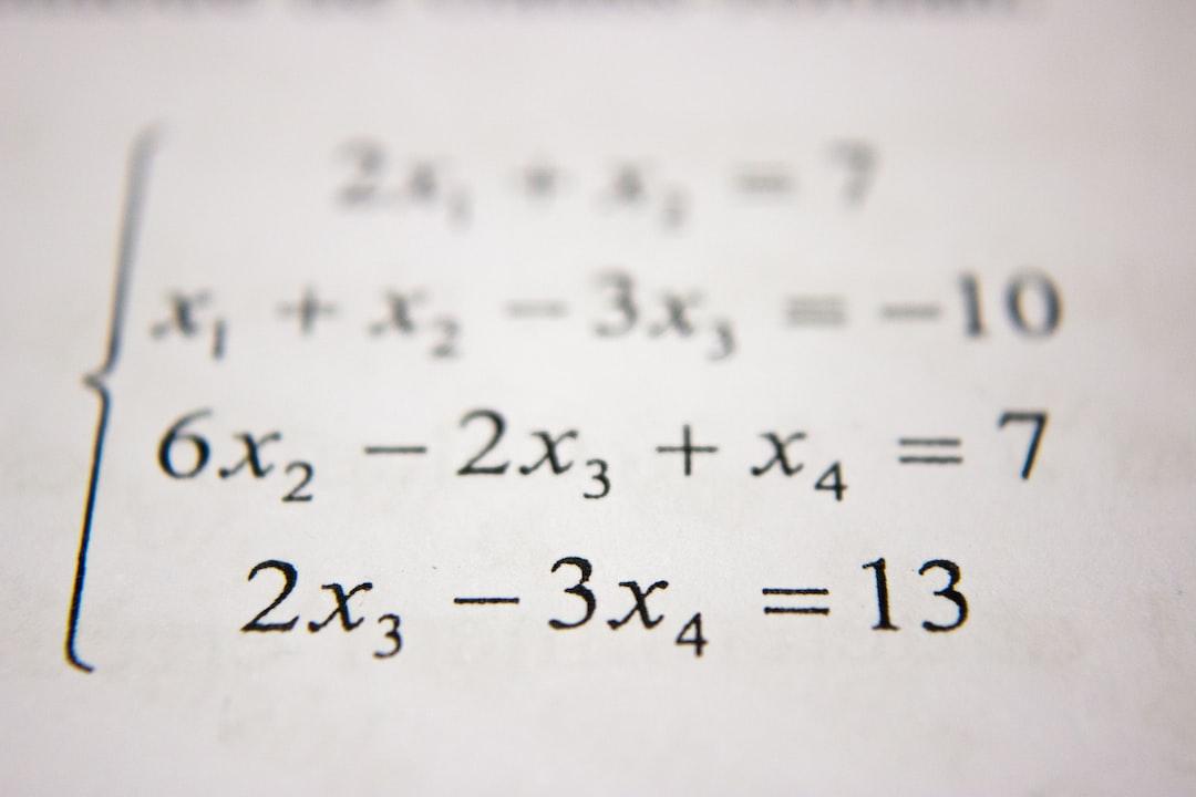 Neco Mathematics