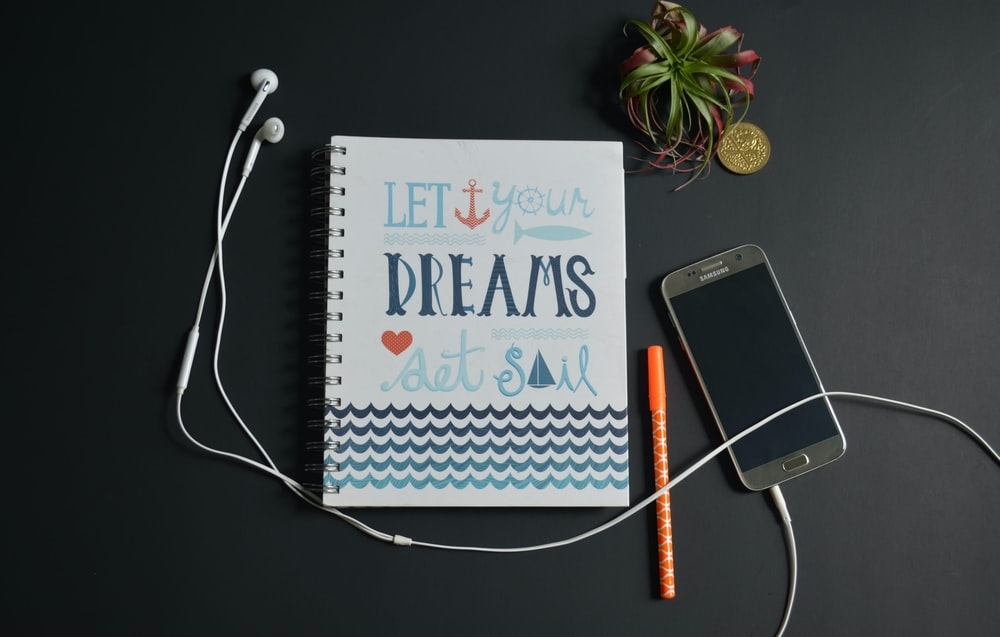 let your dreams set sail quote