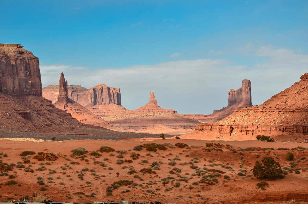 Walking down the Wildcat trail in Monument Valley opens up this magnificent view to everyone. Amazing weather and good light helped us with this picture.