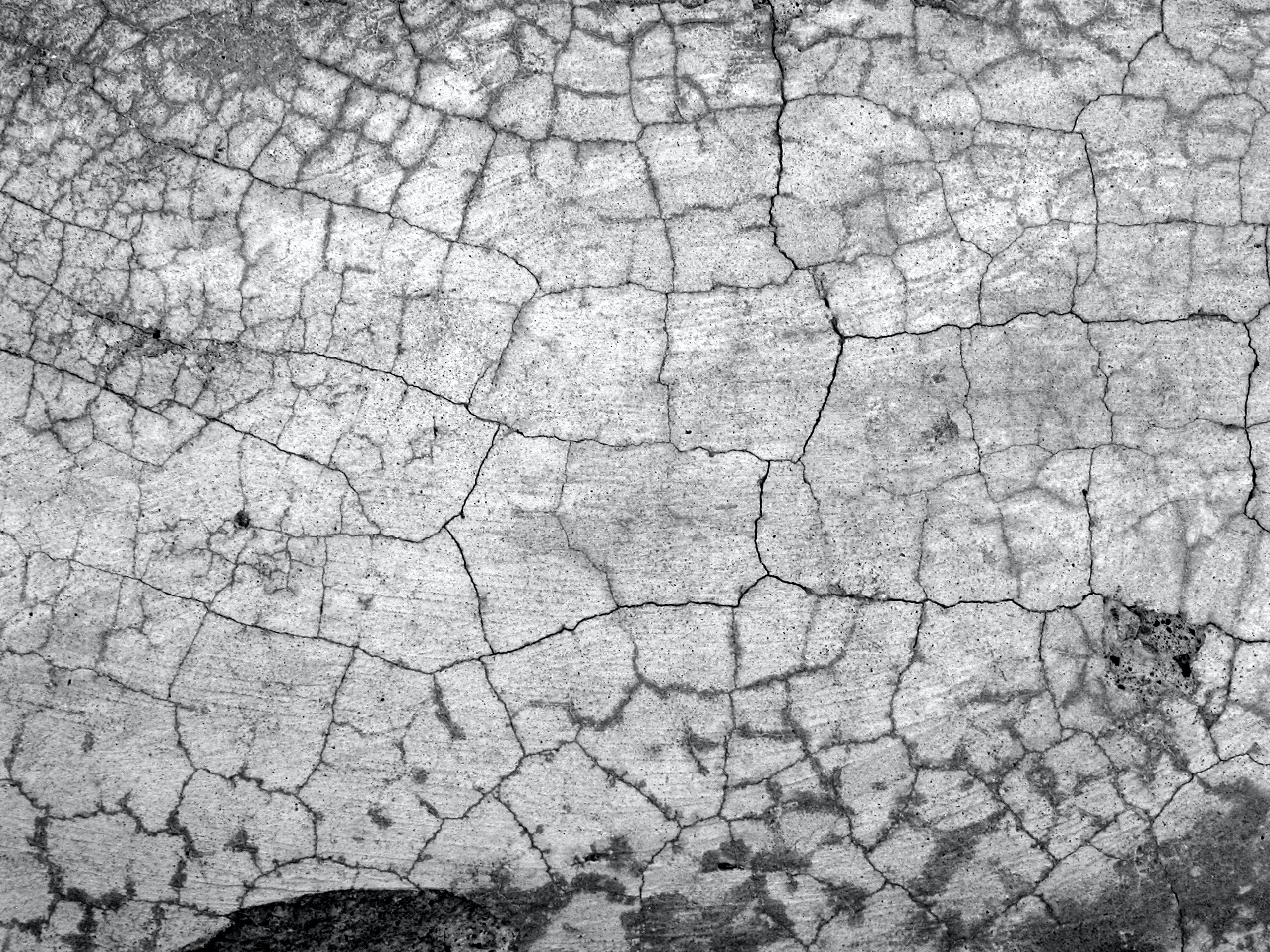aerial photo of dried land
