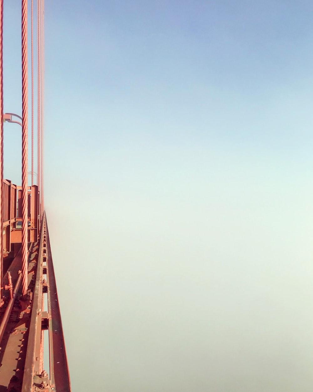 orange bridge frame
