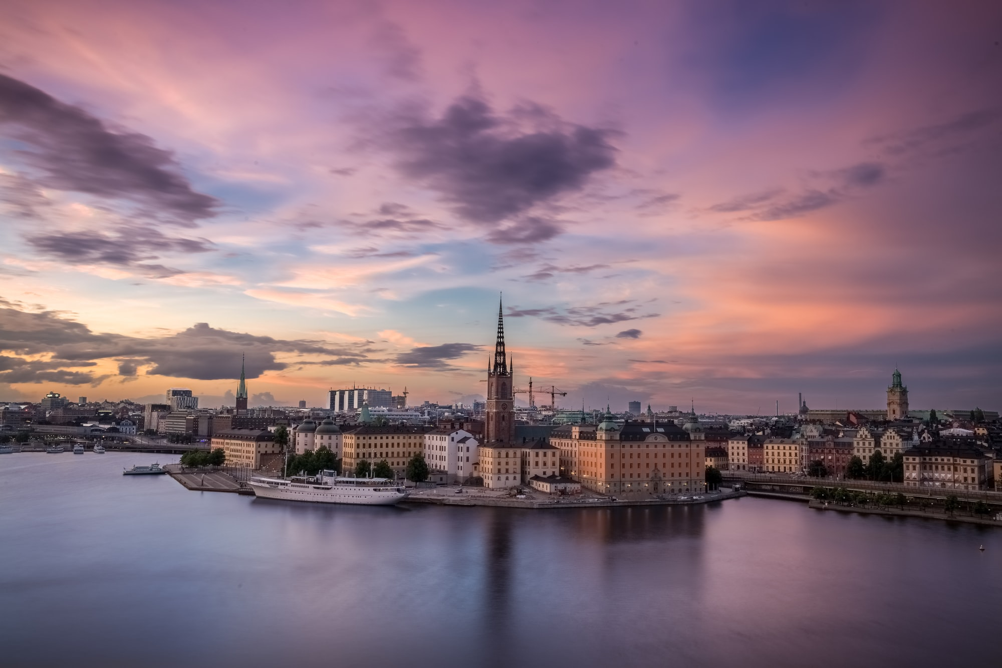 View over Stockholm