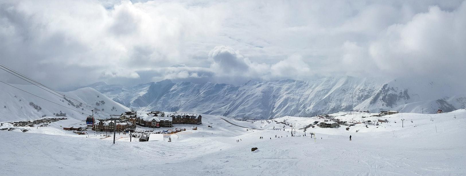 Ski resort Georgia