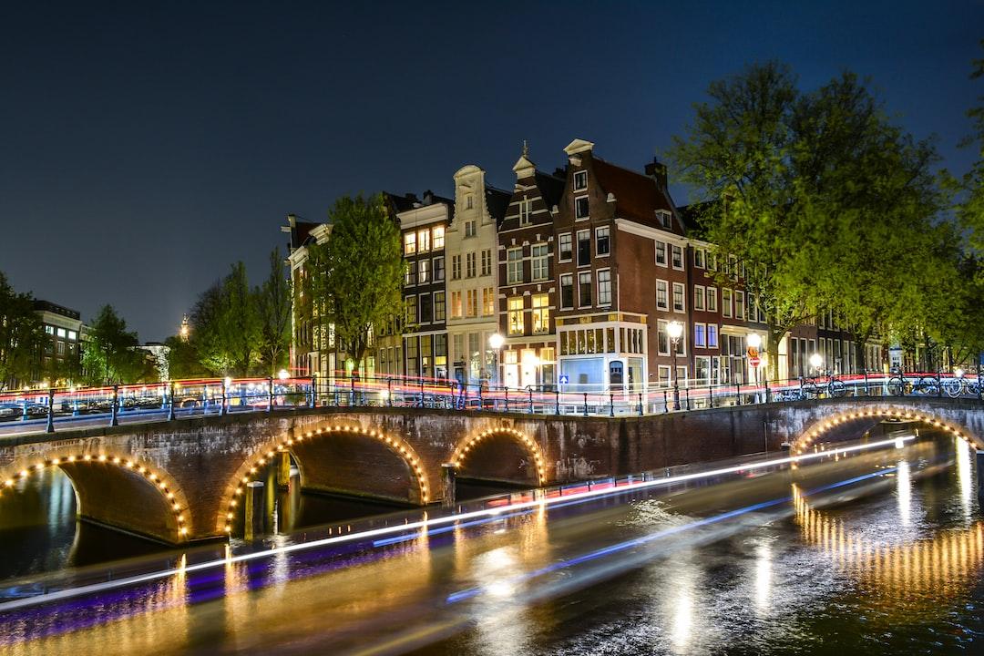 Beautiful night in Amsterdam