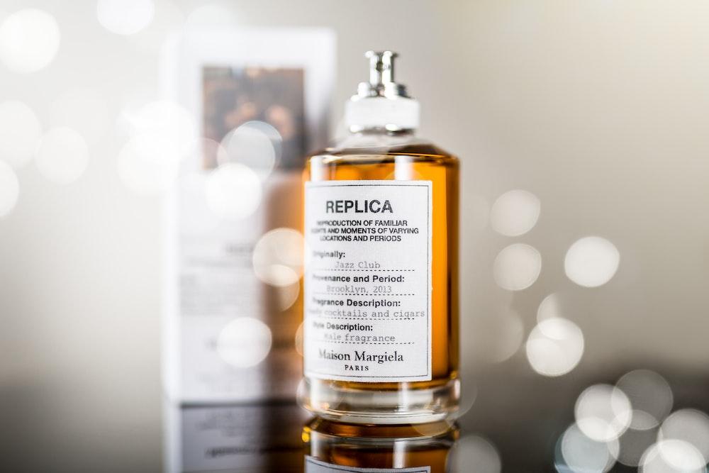 Replica Paris fragrance bottle