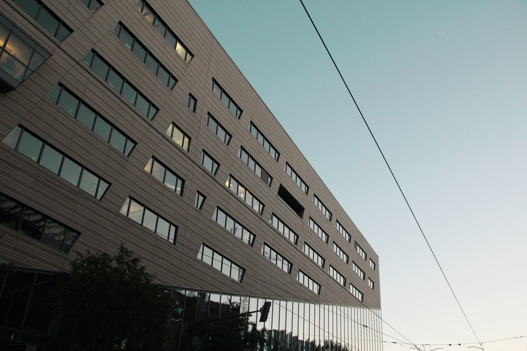 New building of the confluence district.