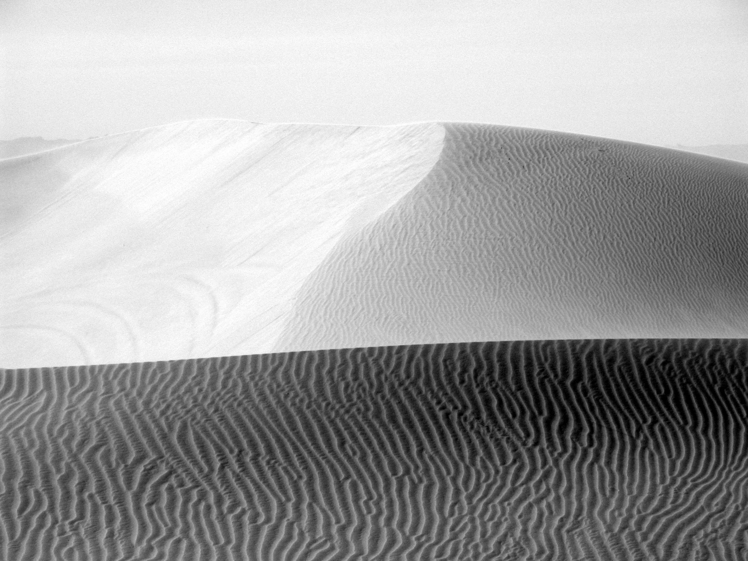 grayscale photography of desert