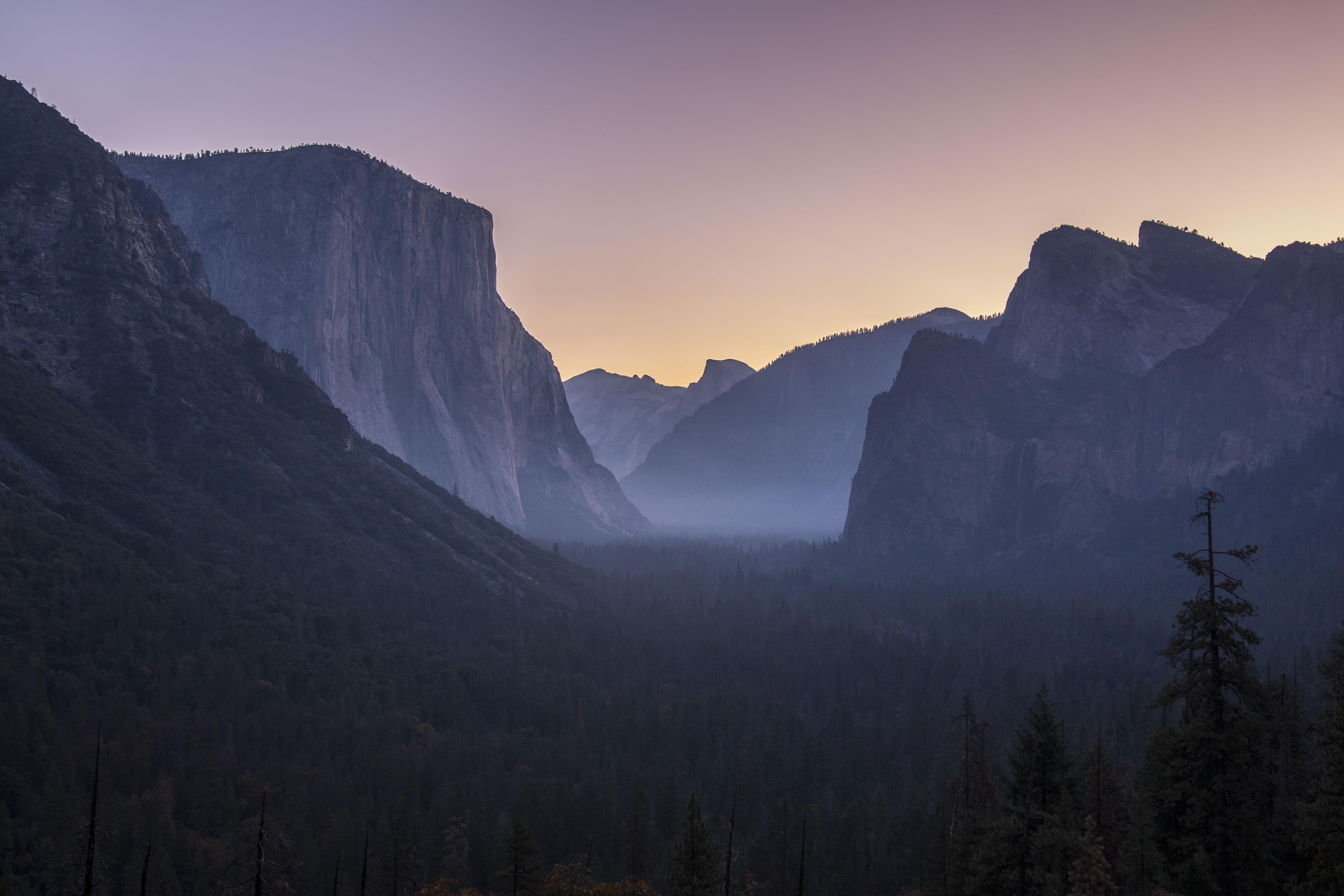 silhouette photo of mountain range