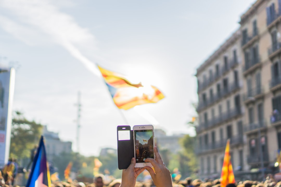Demonstration for independence of Catalunya