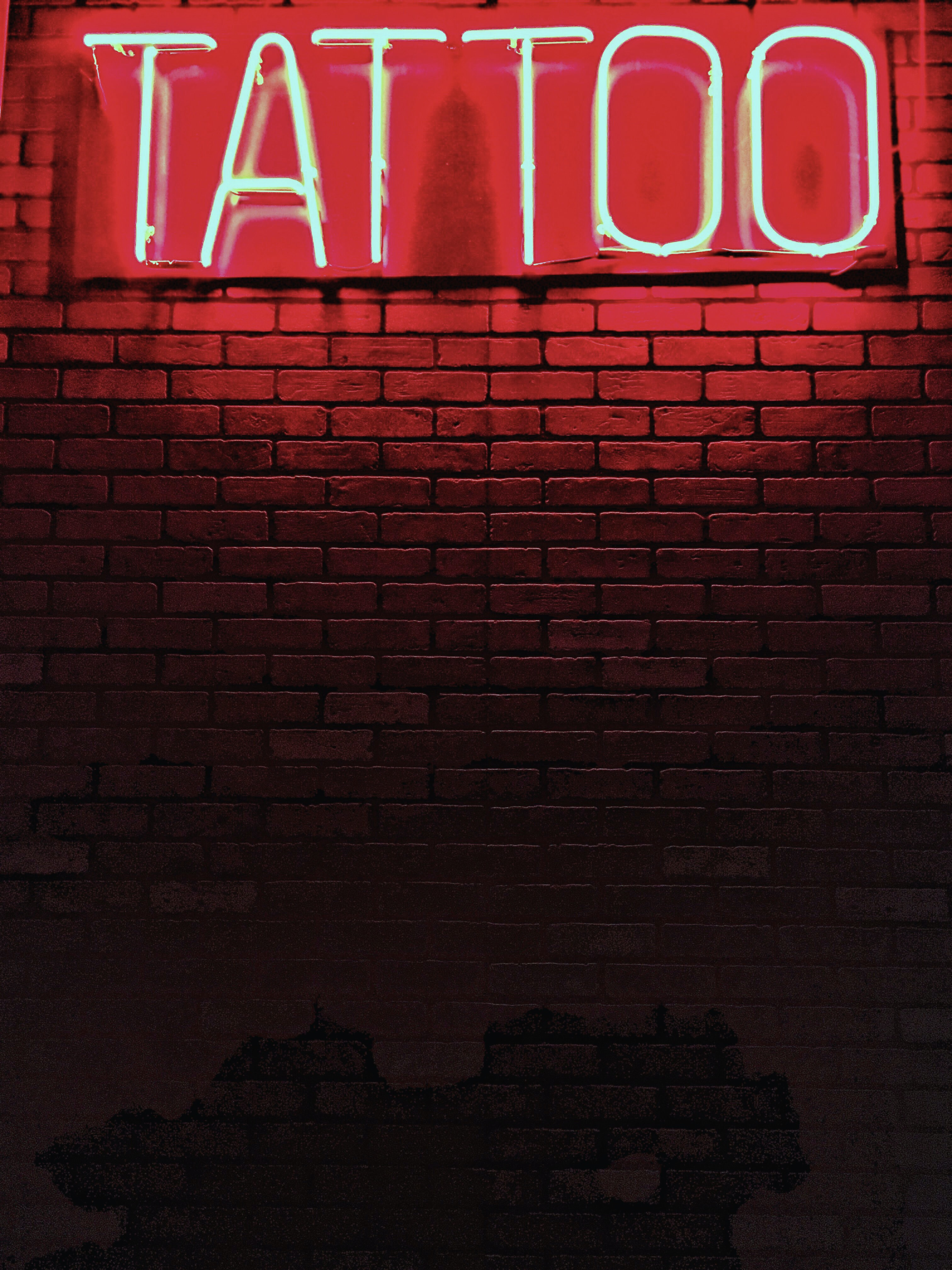 red Tattoo neon light signage