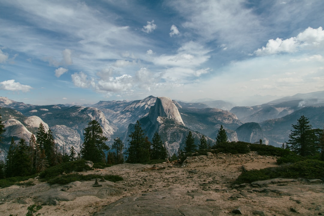 We stopped at the base of Sentinel to capture this northward-facing shot of Half Dome and the surrounding valley.