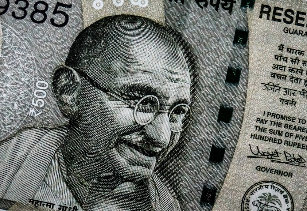 Indian rupee banknote