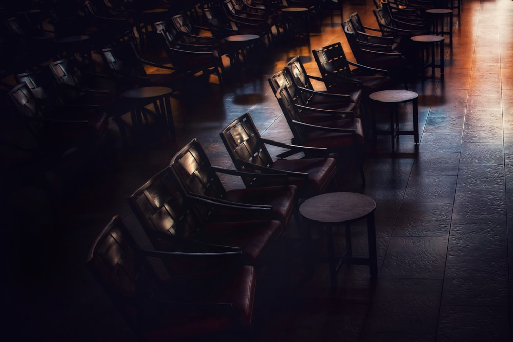 photography of chairs
