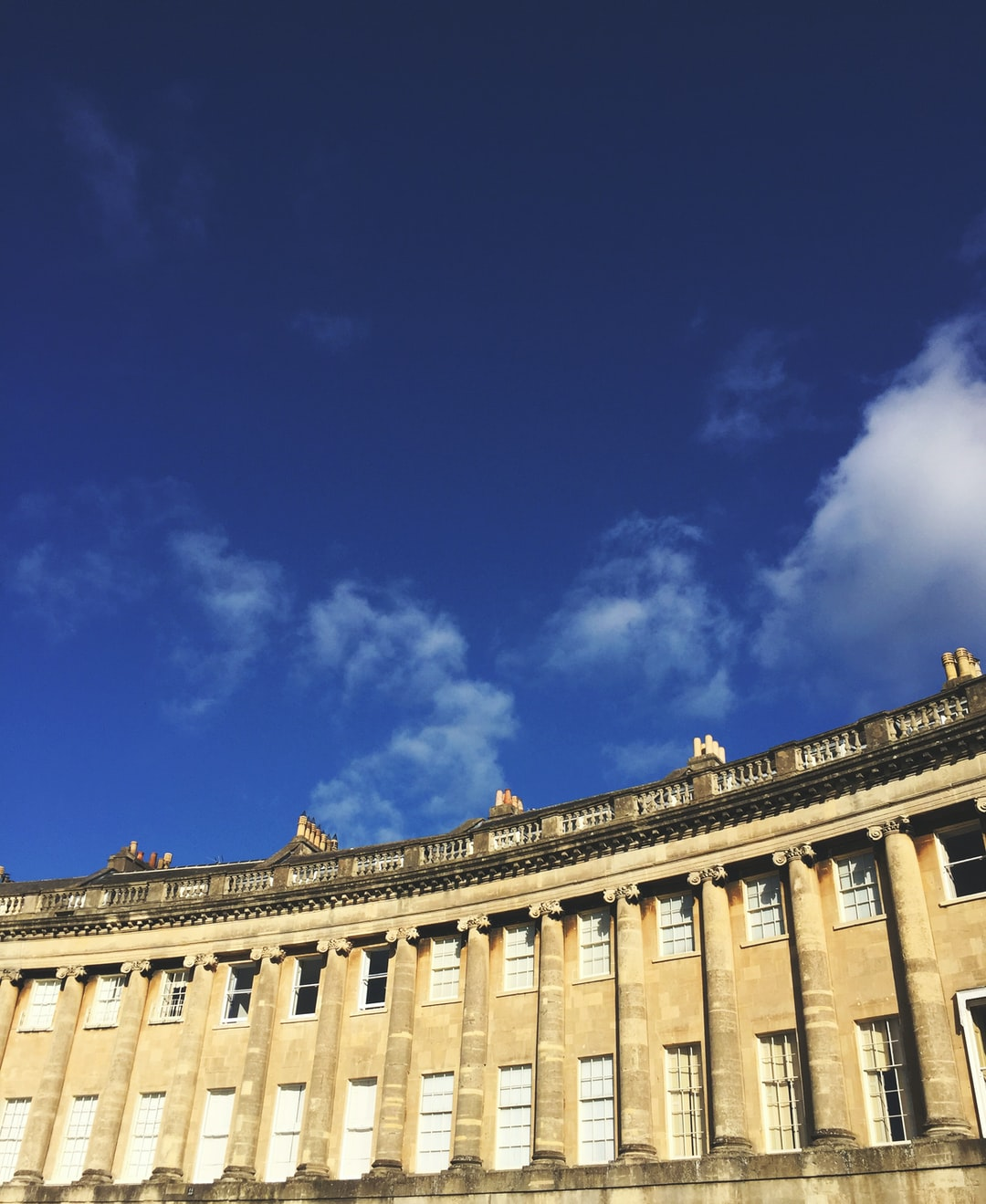 Simply, The Royal Crescent in Bath, Somerset.