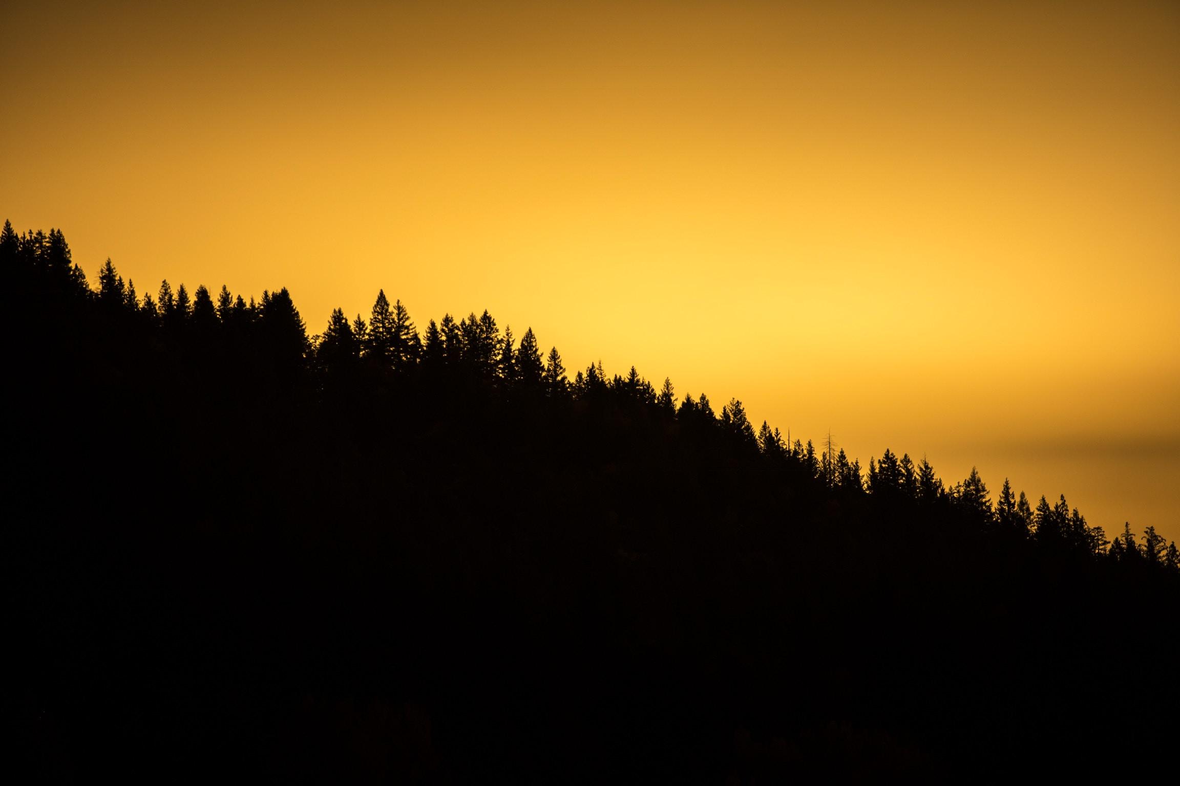 mountain during dawn photo