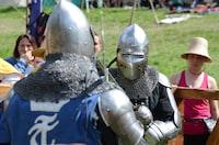 """Sword fight"""